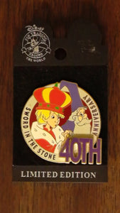 Pin 26053 WDW - Sword in the Stone (40th Anniversary) 3D