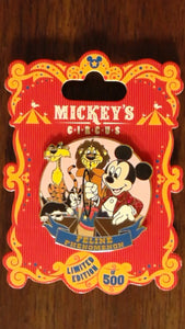 Pin 90525 WDW - Mickey's Circus - Program Acts - Mickey and Cats