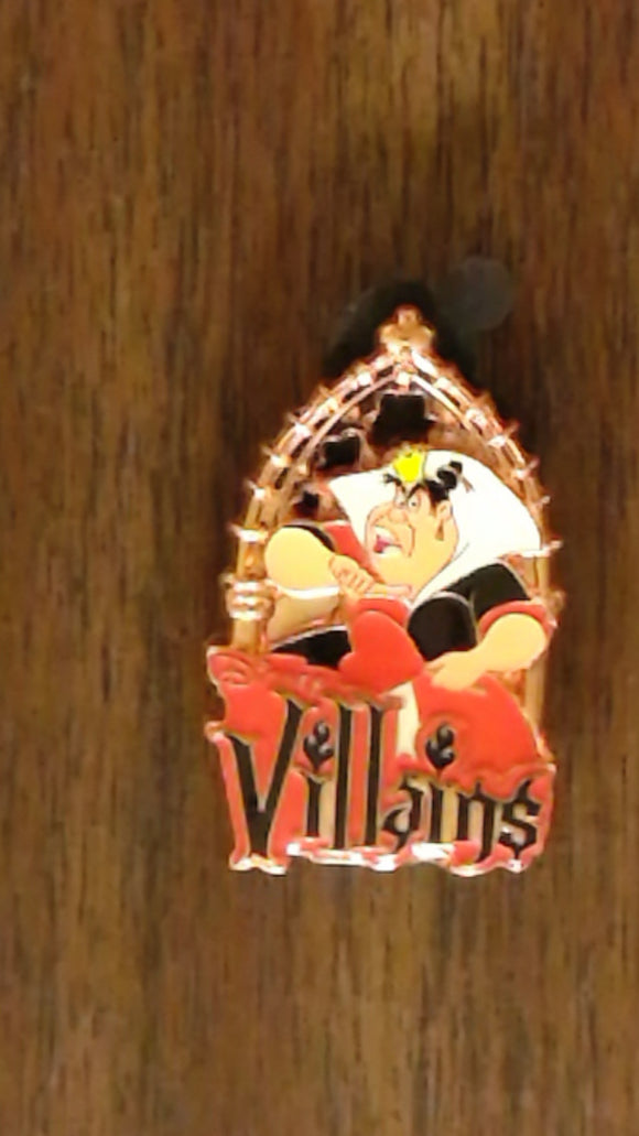 Pin 92665 WDW - MNSSHP 2012 - Villains Mystery Collection - Queen Of Hearts Chaser ONLY