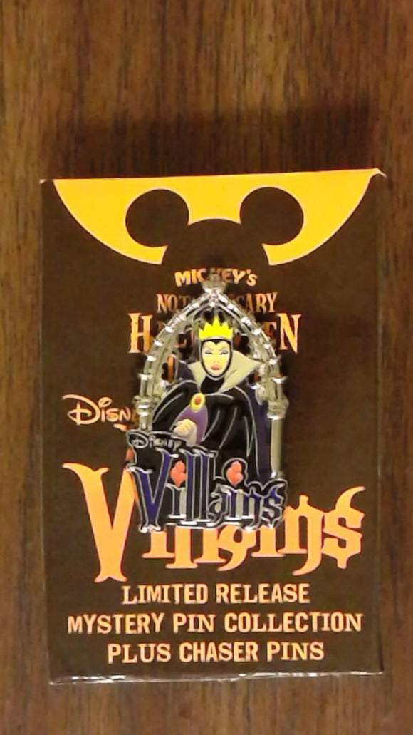 Pin 92193 WDW - MNSSHP 2012 - Villains Mystery Collection - Evil Queen ONLY