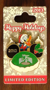 Pin 98918 WDW - Happy Holidays 2013 – Disney's All Star Resort