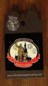 Pin 77792 WDW - Partners Cast Member Pin with Walt & Mickey