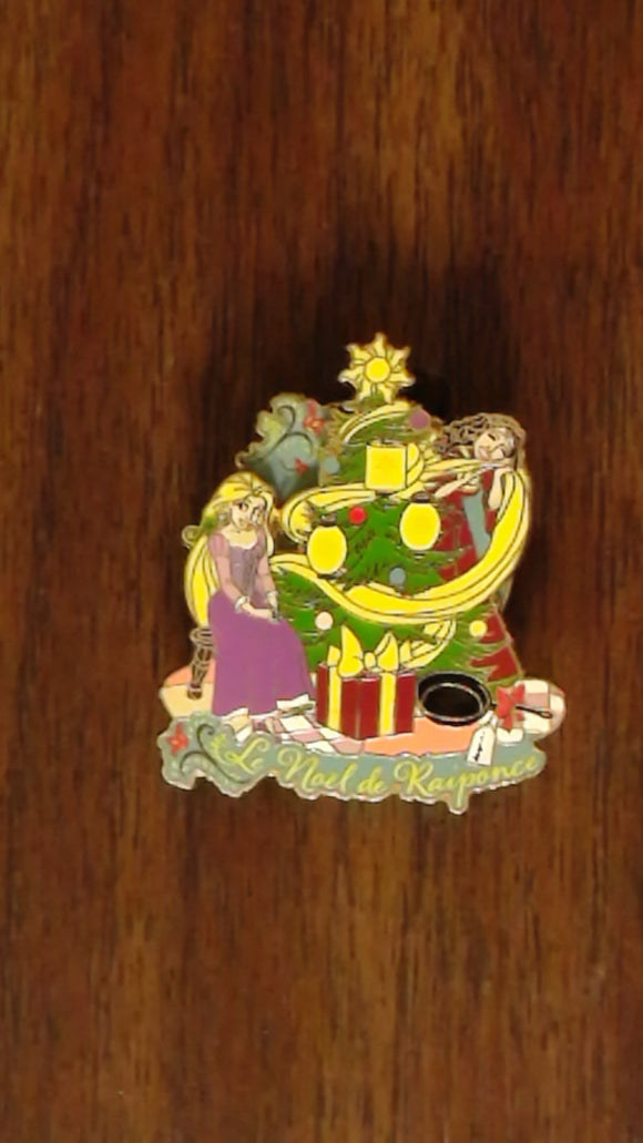 Pin 98981 DLP - Pin Trading Event - The Christmas of Rapunzel - Rapunzel and Mother Gothel with Christmas Tree