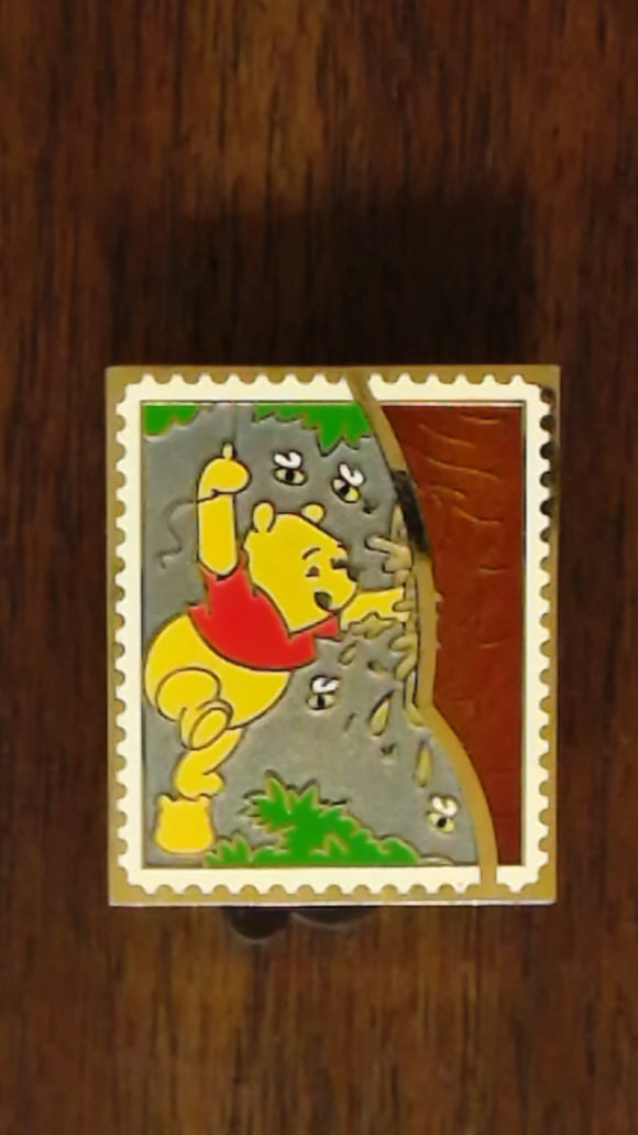 Pin 82764 Pin Trading Stamp Collection - Pooh's Head - Pooh