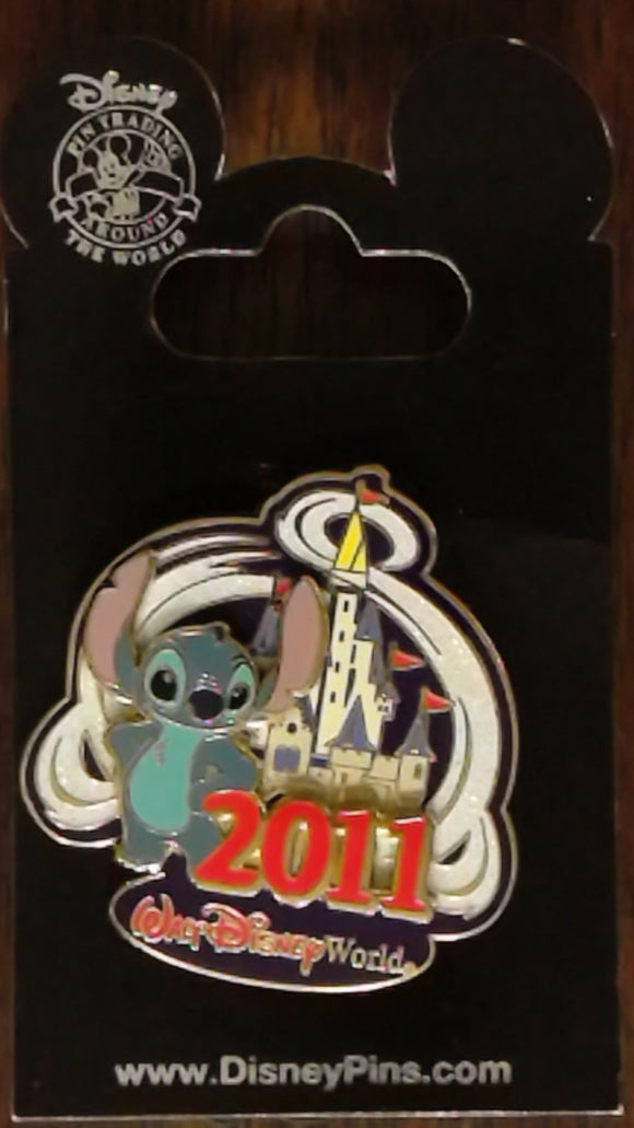 Pin 81197 WDW - 2011 Cinderella Castle - Stitch