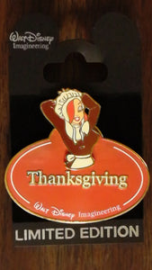 Pin 73218 WDI - Name Tag - Jessica Rabbit Thanksgiving