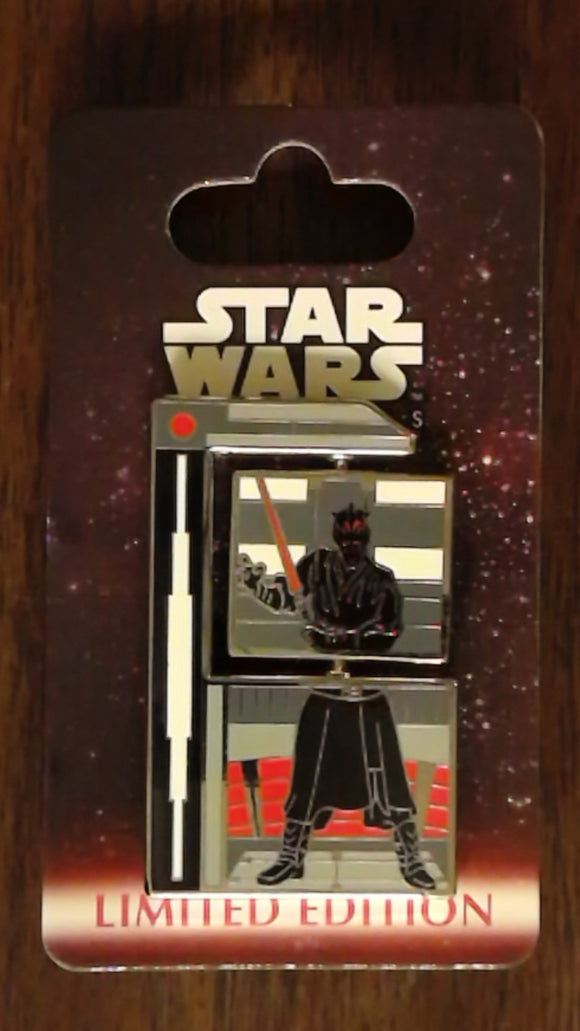 Pin 90380 WDW - Star Wars Weekend 2012 - Darth Maul Spinner