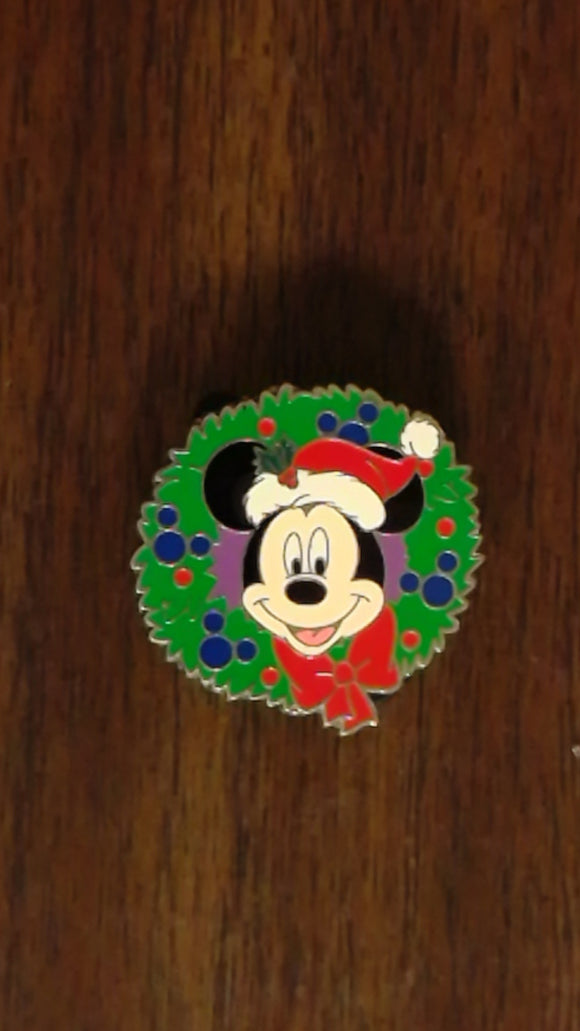 Pin 66642 Happy Holiday 2008 - Mystery Tin Collection - Mickey