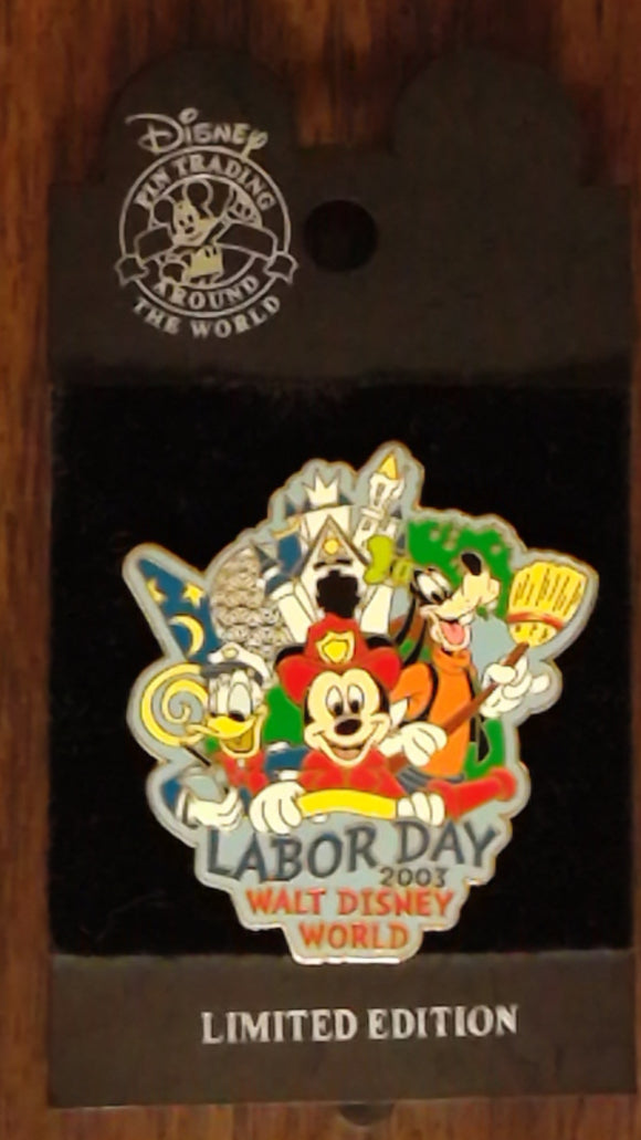 Pin 24553 WDW - Labor Day 2003 (Mickey, Donald & Goofy)
