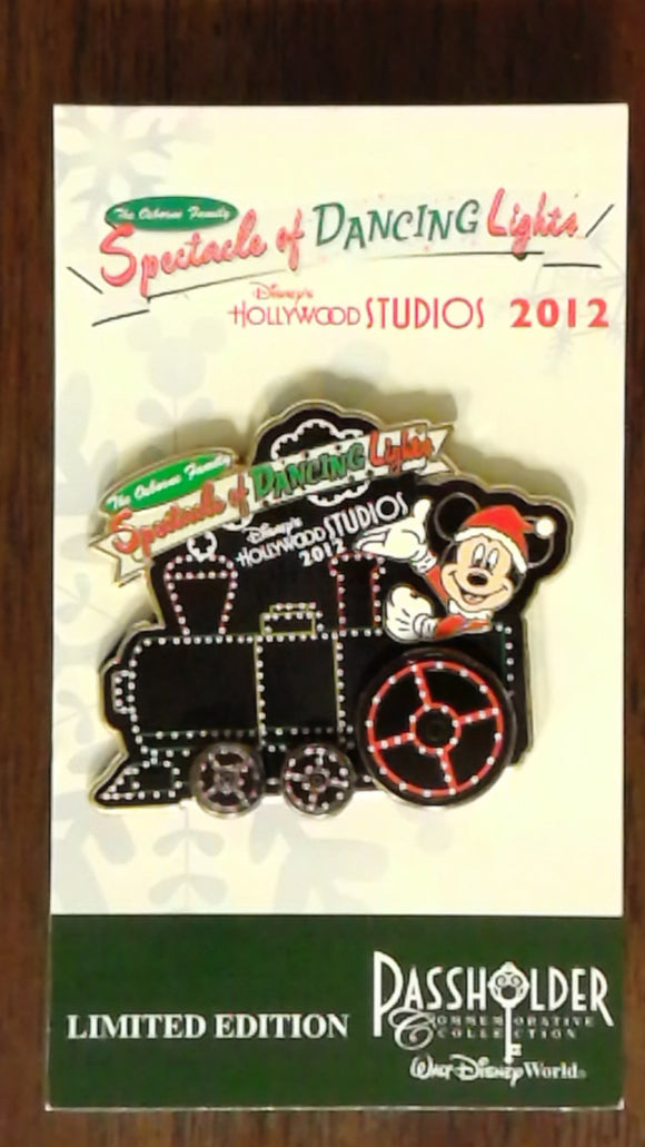 Pin 93448 WDW - Osborne Family Spectacle of Dancing Lights 2012 - Annual Passholder - Mickey