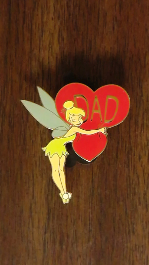 Pin 28440 Disney Auctions (P.I.N.S.) - Tinker Bell Dad