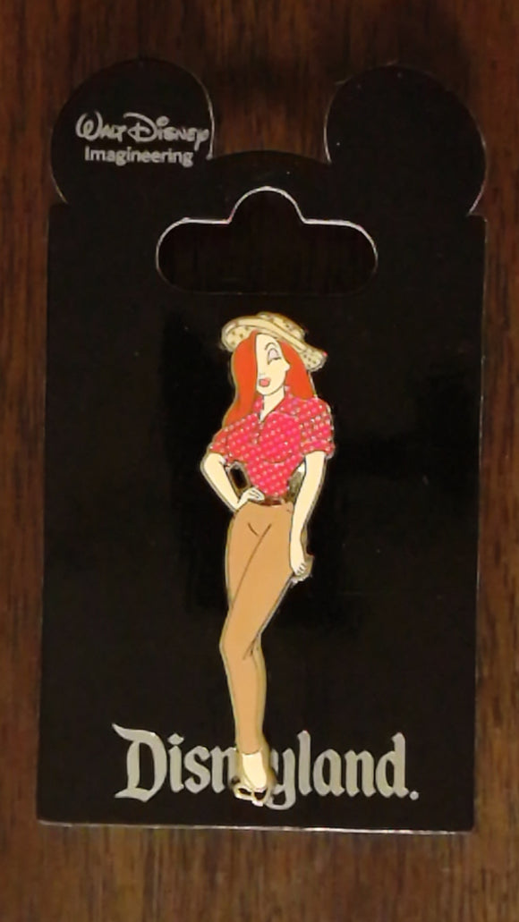 Pin 98930 WDI - Jessica Rabbit in Disneyland Attraction Costumes - Critter Country