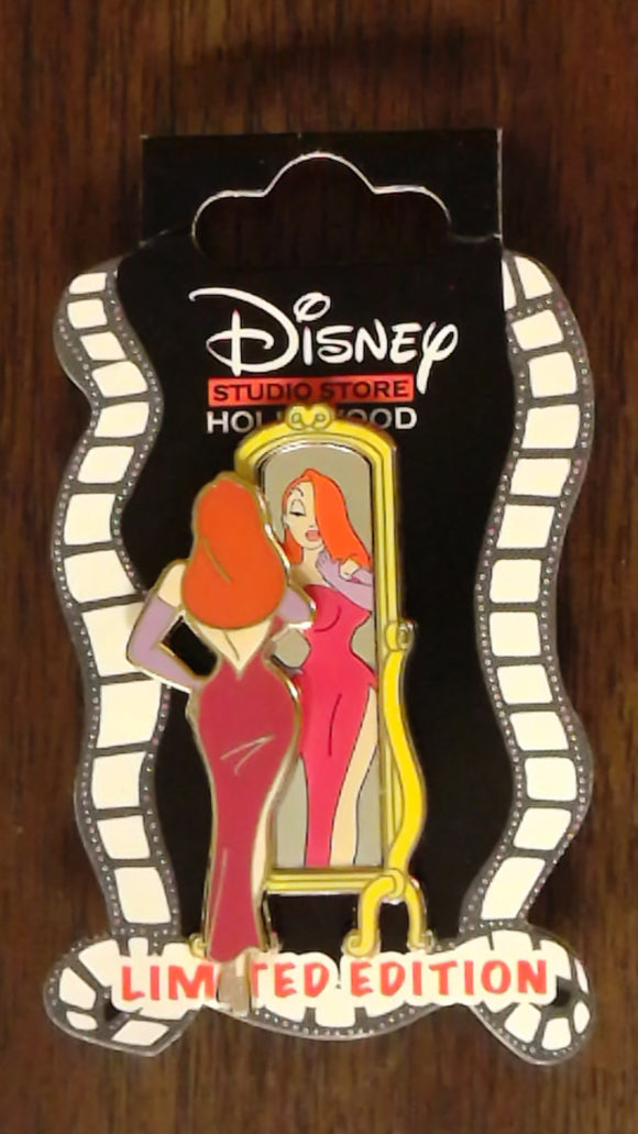 Pin 102377 DSSH - Jessica Rabbit Mirror Series - '#1'