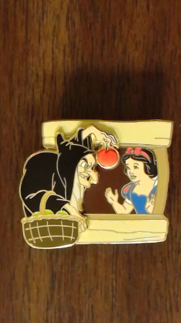 Pin 97758 DLR - Window to the Magic - Snow White and the Seven dwarfs
