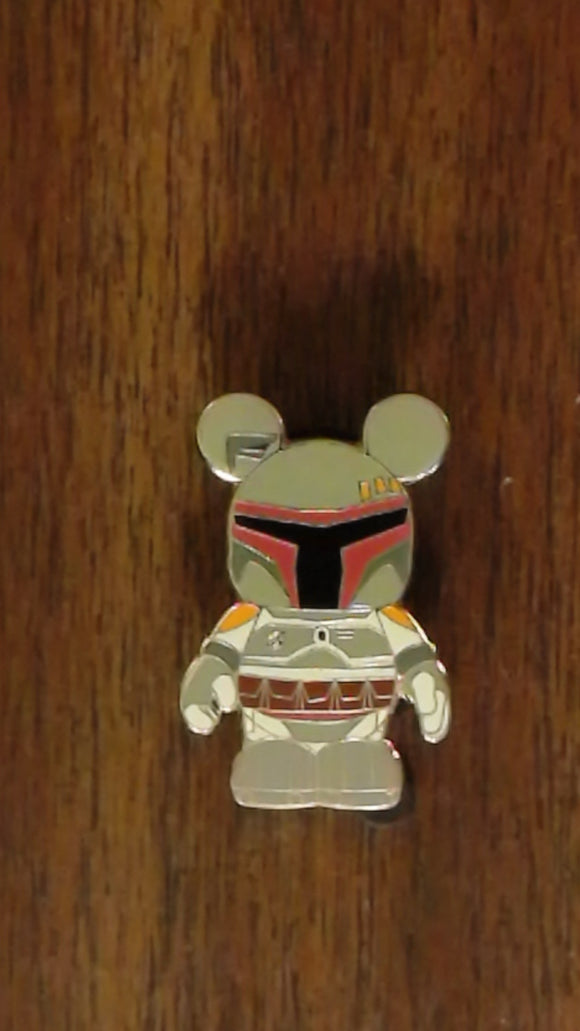 Pin 77556 Vinylmation Mystery Pin Collection - Star Wars - Boba Fett Only