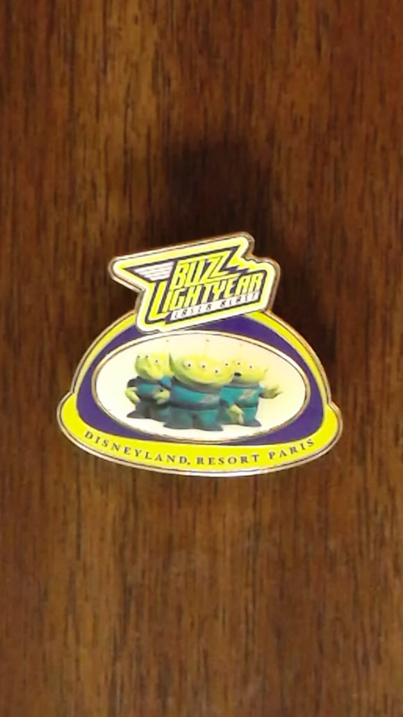 Pin 46119 DLRP - Buzz Lightyear Laser Blast - Aliens