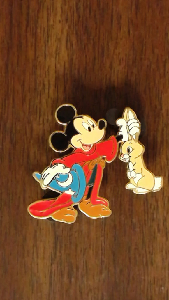 Pin 53104 DisneyShopping.com - April Fool's Day 2007 Series (Sorcerer Mickey)