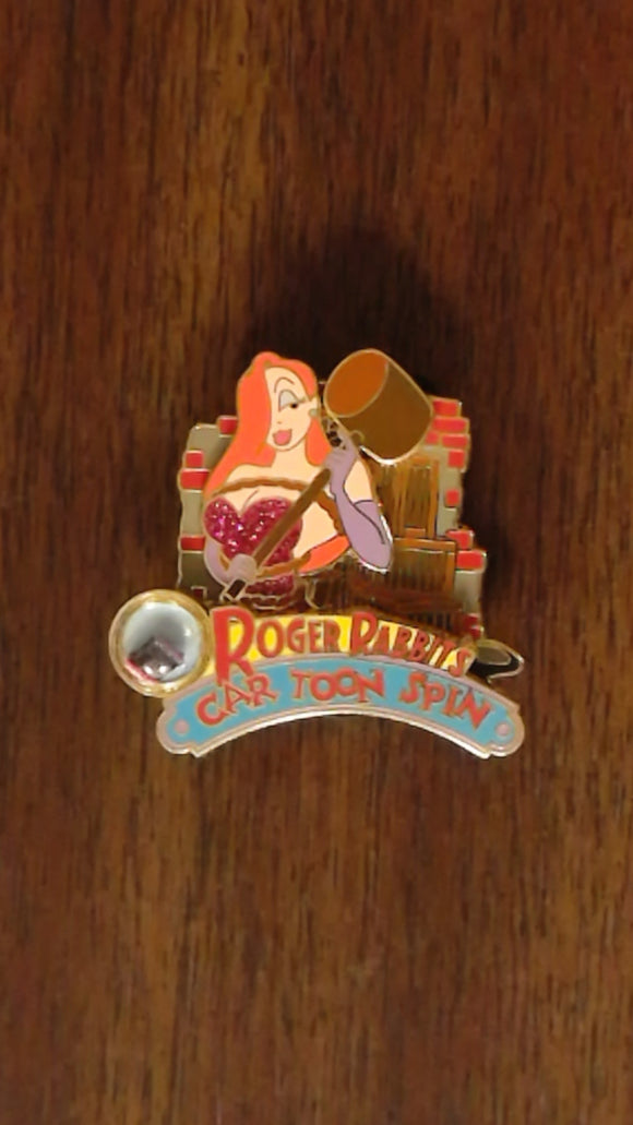 Pin 100196 DLR - Piece of Disney History 2014 - Roger Rabbit's Car Toon Spin