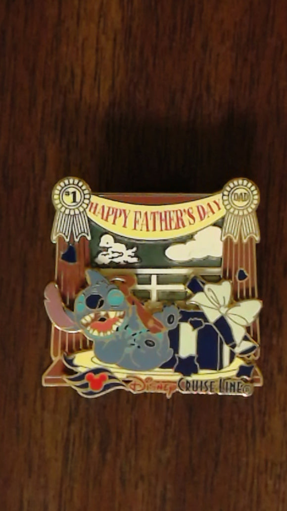 Pin 55512 DCL - Happy Father's Day 2007 - Stitch
