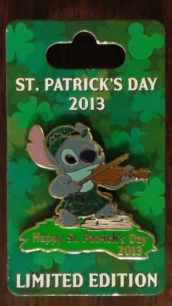 Pin 94484 St. Patrick's Day 2013 - Stitch