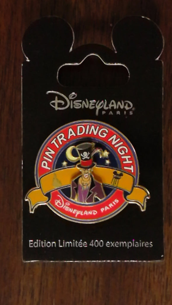 Pin 100266 DLP - Pin trading Night - Dr. Facilier