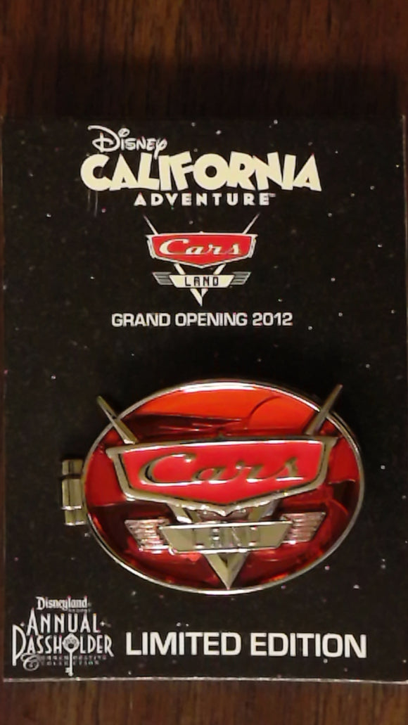 Pin 91135 DCA - Cars Land Revving Up - Annual Passholder Commemmorative