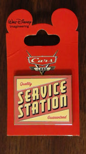 Pin 87153 WDI - Cars Land Mystery Collection - Service Station Sign