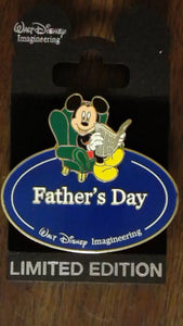 Pin 68903 WDI - Name Tag - Mickey Mouse Father's Day