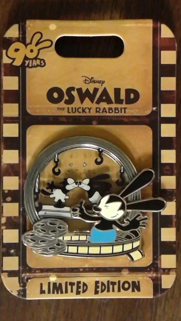 Pin 122922 Oswald the Lucky Rabbit 90th Anniversary - Oswald and Ortensia Kiss