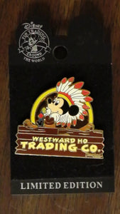 Pin 60209 DLR - Westward Ho Trading Co. - Mickey Mouse