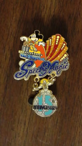 Pin 49814 WDW - SpectroMagic (15th Anniversary) Dangle