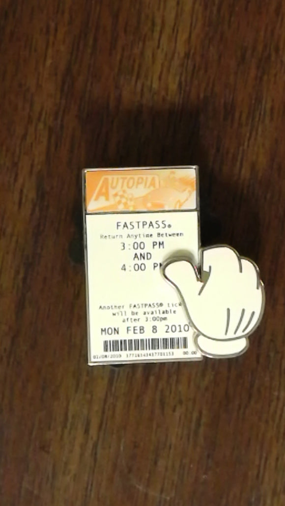 Pin 81222 DLR - Autopia Fastpass Surprise Pin