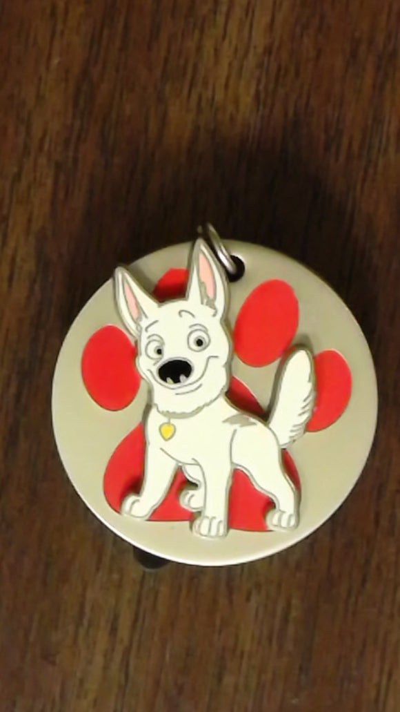 Pin 102724 DSSH - Bolt Dog Collar Tag