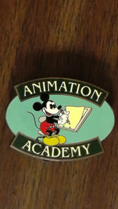Pin 55862 WDI - Animation Academy at HKDL