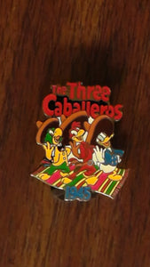 Pin 420 DS - Countdown to the Millennium Series #95 (Three Caballeros)