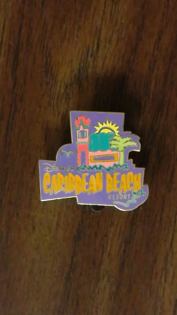 Pin 20147 WDW Cast Exclusive - Caribbean Beach Resort