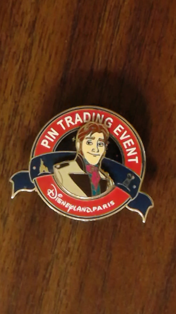 Pin 107053 DLP - Let It Snow - Frozen pin event - Hans