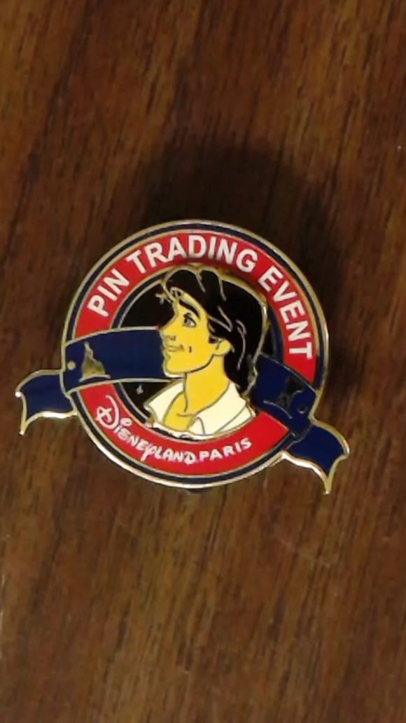 Pin 102131 DLP - Princesses Tea Time Event - Pin Trading Event Logo - Prince Eric (Gift Pin)