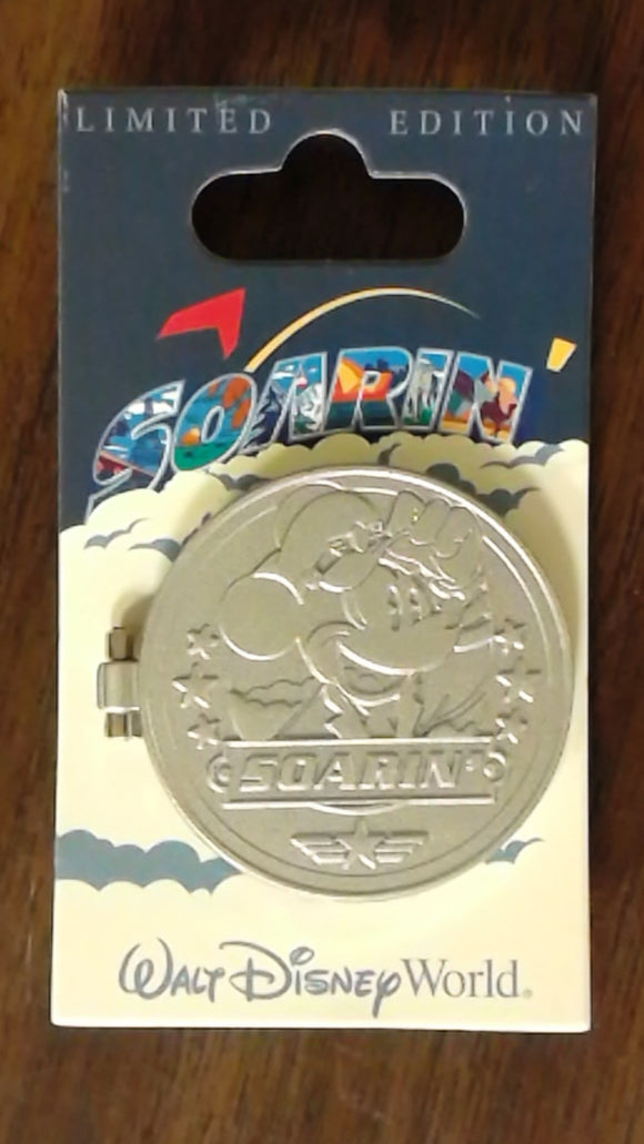 Pin 116229 WDW - Epcot - Soarin Around the World Opening Day
