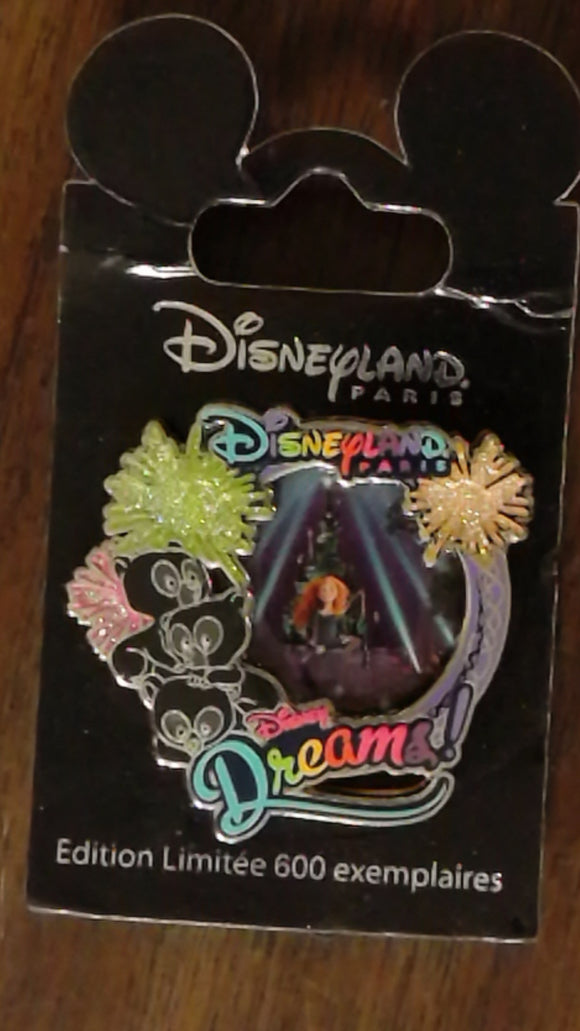 Pin 99404 DLP - Disney Dreams - Merida (Brave)