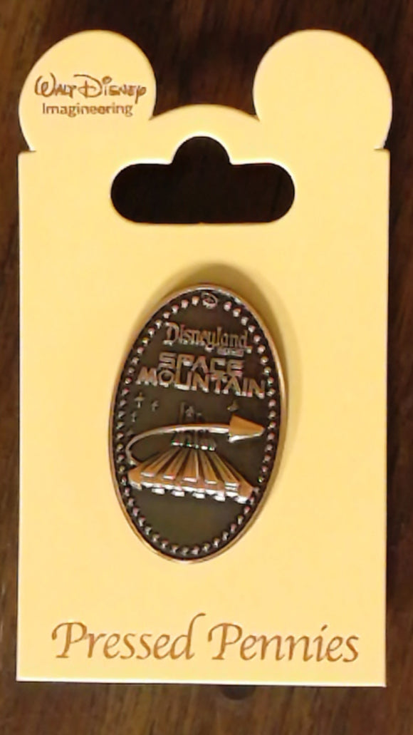 Pin 106931 WDI - Pressed Pennies - Space Mountain