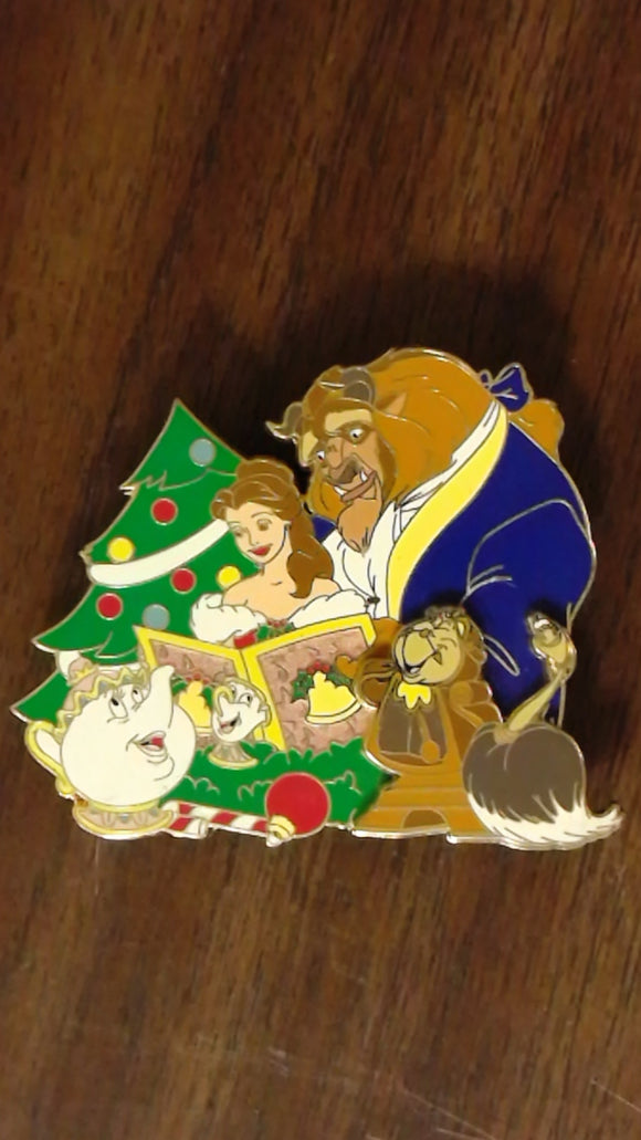 Pin 106990 DSSH - Christmas Carolers Jumbo Series - Beauty and the Beast