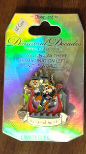 Pin 110351 DLR - Diamond Decades Collection: It's a Small World
