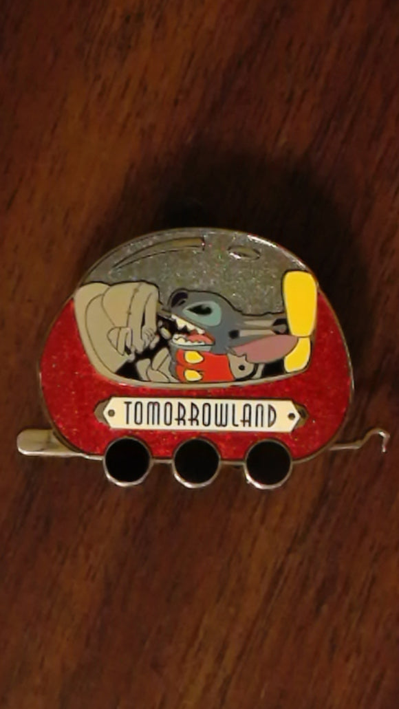 Pin 89789 DLR - Disneyland® Resort Train Mystery Collection - Tomorrowland - Stitch Only