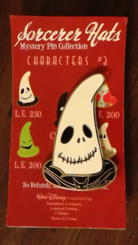 Pin 79141 WDI - Sorcerer Hats Mystery Pin Collection - Characters #3 - Jack Skellington