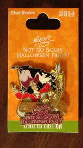 Pin 103077 WDW - MNSSHP 2014 - Captain Hook & Tinker Bell
