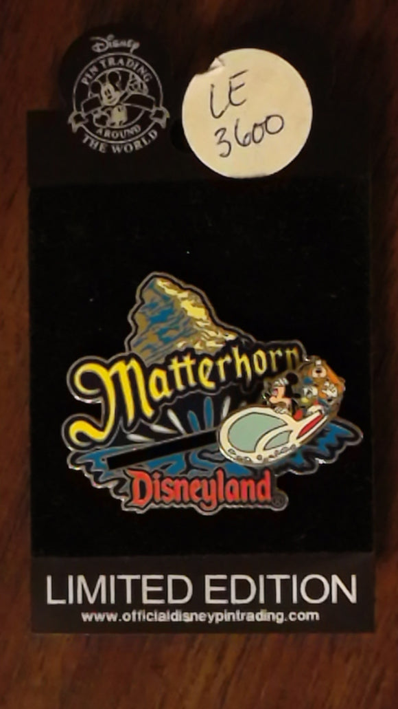 Pin 6497 DL Matterhorn Slider LE
