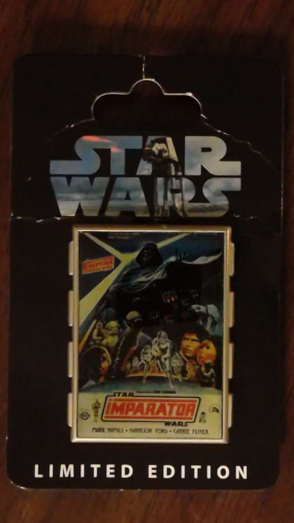 Pin 79298 Star Wars Celebration 5 Event Poster - Empire Strikes Back Poster - Turkish Movie Release