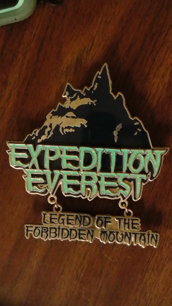 Pin 45963 WDI Cast Exclusive - Expedition Everest (Jumbo/Dangle/3D)
