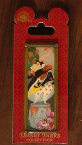 Pin 102752 Haunted Mansion Stretch Portrait - Queen of Hearts and Cheshire Cat